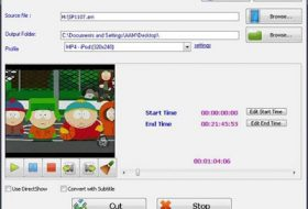 Easy Video Cutter Video kesme Programı